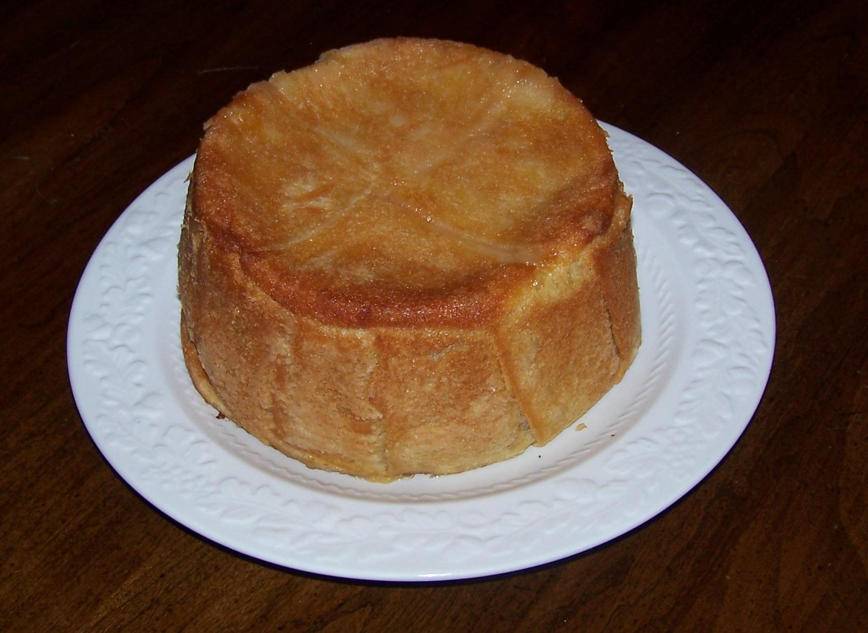 Шарлотка с яблоками из хлеба рецепт