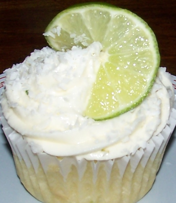 Coconut Lime (Vegan) Cupcake | Julia, Julie & I - The Joy ...