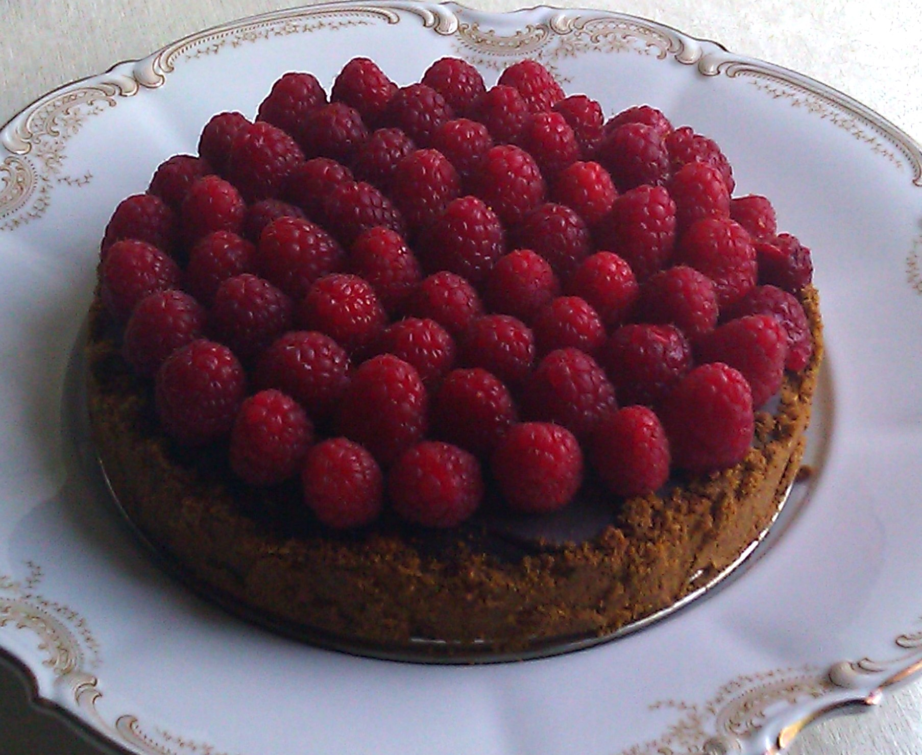 Decadent Chocolate Raspberry Tart | Julia, Julie & I - The Joy of ...