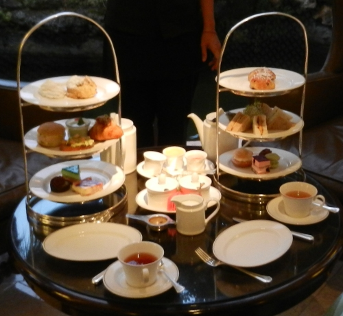 Afternoon Tea At the Princess in Hamilton, Bermuda