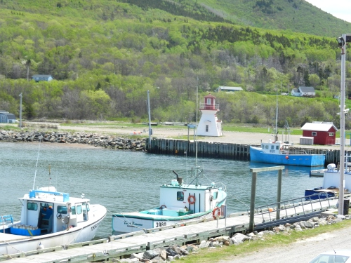 Pleasant Bay on the Cabot Trail