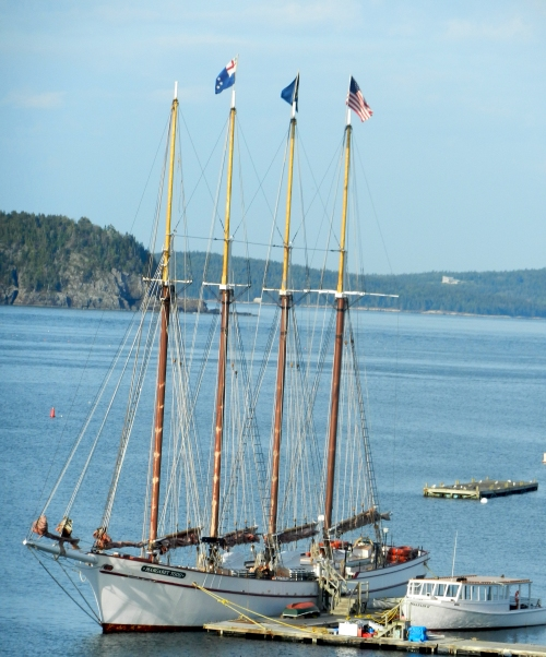 Four-masted Schooner: Margaret Todd