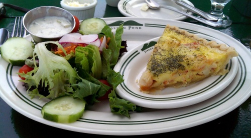 Lobster Quiche